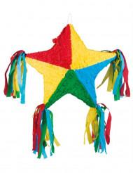 Piñata étoile multicolore 51 x 56 cm