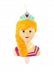 Bougie princesse 7 cm