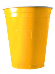 20 Gobelets Américains Original Cup jaune 53 cl