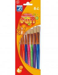 8 pinceaux colorés Lefranc & Bourgeois®
