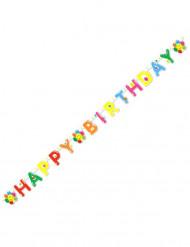Guirlande Happy Birthday Smile 180 cm