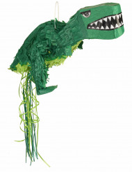 Piñata dinosaure vert 65 x 30 x 20 cm