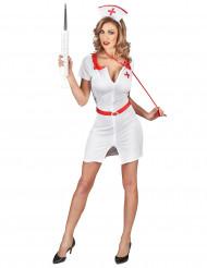 Déguisement infirmière blanche sexy femme