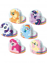 6 Diadèmes en carton My little Pony ™