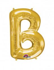 Ballon aluminium géant Lettre B or 58 x 86 cm