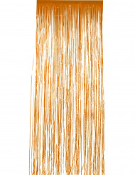 Rideau scintillant orange 244 x 91 cm