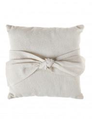 Coussin coton naturel 16 cm