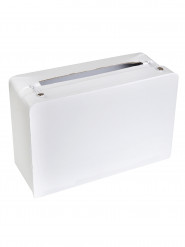 Tirelire valise blanche
