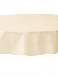 Nappe ronde ivoire en intissé 2.40 m