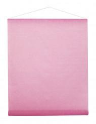 Tenture en intissé rose 8 m x 70 cm