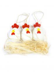 Décoration de Pâques poules