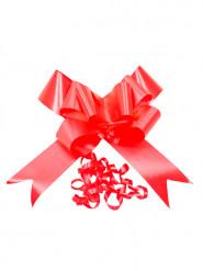 4 Nœuds à tirer rouge 15 cm