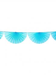 Guirlande éventail turquoise