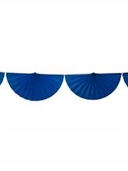 Guirlande éventail bleu marine
