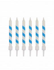 10 Bougies d'anniversaire sorbet ice