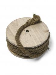 Bobine bois corde marin 0,8cm x 7m