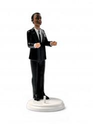 Figurine marié porteur mate