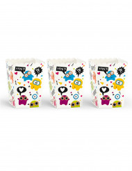 6 Boîtes à popcorn petits monstres