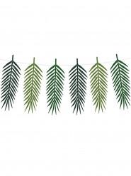 Guirlande feuilles exotiques Aloha 34 x 12 cm