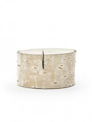 6 Marque-places rondin en bois 2 x 4 cm