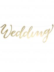 Guirlande Wedding carton or 45 cm