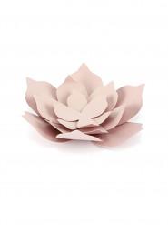 3 Fleurs en papier roses 10 cm