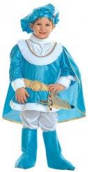 Déguisement prince bleu et or enfant