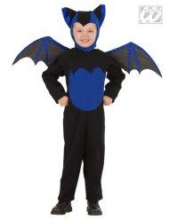 Déguisement chauve-souris noire et bleue enfant Halloween