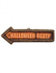 Flèche signalétique Halloween Party
