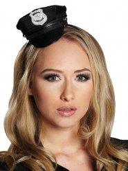 Mini casquette policier femme