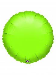 Ballon aluminium citron vert 18x45 cm