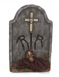 Pierre tombale crucifix 66 x 42 x 7 cm