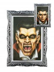 Cadre lenticulaire portrait vampire Halloween