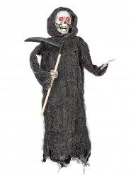 Décoration faucheuse animée Halloween 46cm