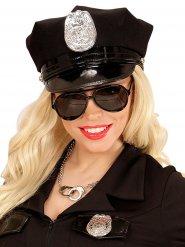 Lunettes noires d'aviateur ou policier adulte