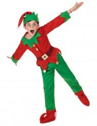 Déguisement Complet Elfe de Noël Enfant