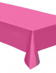 Nappe plastique rose fuschia 137 cm x 274 cm