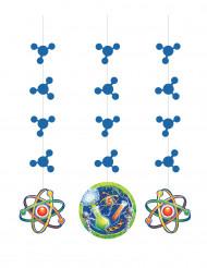 3 Décorations à suspendre Scientifique
