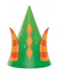 8 Chapeaux de fête Dragon