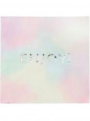 16 Serviettes en papier Enjoy Pastel 33 x 33 cm
