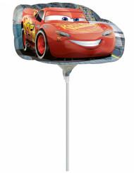 Petit ballon aluminium Cars ™ gonflé 20 x 30 cm