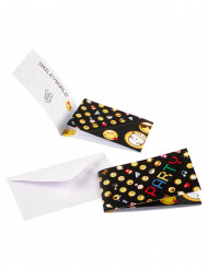 8 Invitations et enveloppes Smiley Emoticons™