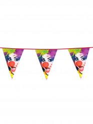 Guirlande à fanions Clown party 6 m