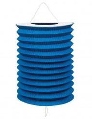 12 Lampions bleus 20 cm