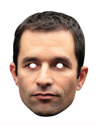 Masque carton Benoît Hamon