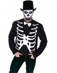 Gilet squelette homme