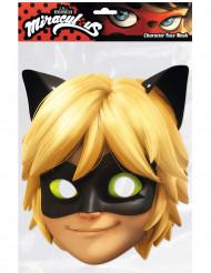 Masque carton chat noir™ Miraculous Ladybug™