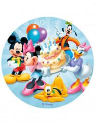 Disque azyme anniversaire Mickey™  20 cm