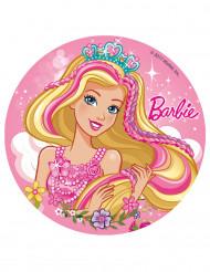 Disque en sucre Barbie™ 16 cm