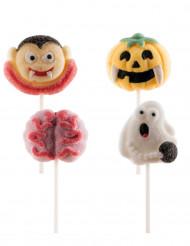 4 Sucettes de marshmallow Halloween